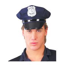 cappello poliziotto copricapo carnevale adulto travestimento polizia