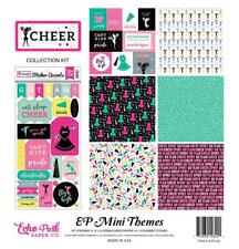 Echo Park Mini Theme CHEER Kit 12x12 Scrapbook Paper Stickers Planner