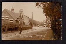 Formby - The Village - real photographic postcard
