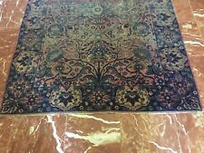 """Hand-knotted Kirman Rug 5'8"""" by 3'11"""" Traditional Early Wool Rug"""