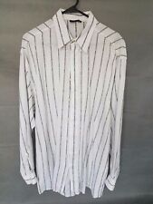 Vintage Versace Classic V2 Men's Long Sleeve Shirt Size M