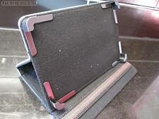 """Blue Secure Multi Angle Case/Stand for Ultra-Thin Phablet 7""""Android 4.2 MTK6572"""