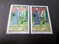 FRANCE 1991, VARIETE COULEURS, timbre 2768, GASTON FEBUS, neuf**, MNH STAMP