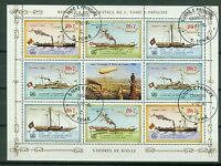 Sao Tome und Principe Kleinbogen 912 - 915 , o ,