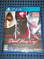 NEW PS4 Devil May Cry 1 2 3 Special ed HD Collection w/ Bonus DMCHCD DLC JAPAN