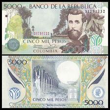 Colombia 5000 5,000 Pesos, 2013, P-452, UNC