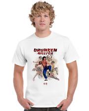 Drunken Master Kung Fu Movie Poster T Shirt