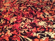 Fabric Autumn Splendor 8418 floral branch, sold by the yard