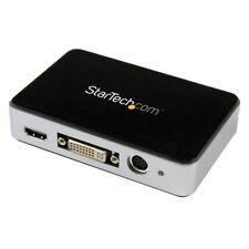 S444927 Startech.com Usb3hdcap Boîtier D'acquisition Vidéo HD USB 3.0 Noir