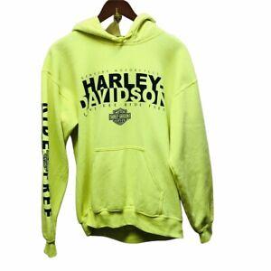 Harley Davidson Mororcycles Lake of the Ozarks Neon Hoodie Hooded Sweatshirt