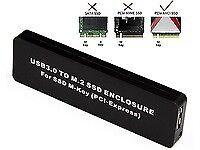 MicroStorage MSUB7001 E-MSUB7000 M.2 PCIe NGFF AHCI to USB 3.0 Enclosure Typ ~E~