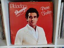 PLACIDO DOMINGO | Para todos | Jurame - Giuseppe verdi | LP EX MEXICO EDITION