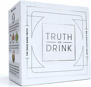 NEW Cut Truth Or Drink, NULL One Size, Unisex, Games