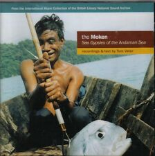 The Moken ( Sea Gypsies Of The Andaman Sea ) Text by T Vater  CD  NEW / SEALED
