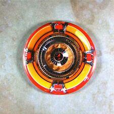 "Classic Jukebox Speaker  Fridge Magnet 2 1/4""  Wurlitzer Johnny One Bubble 78rpm"