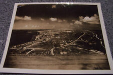 Panorama Picture of Iwo Jima Taken From top of Mt. Suribachi