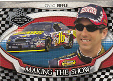 Greg Biffle 2006 Press Pass Collector's Series Making the Show Card #15