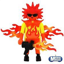 playmobil® Figur: Feuerengel | Feuermann | Actionfigur | Flamiac mit Zubehör
