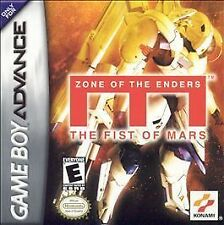 Zone of the Enders: The Fist of Mars (Nintendo Game Boy Advance, 2002)