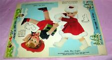 GRIFFIN SHOE POLISH ADVERTISING PREMIUM PUNCH OUT VTG 1930S PAPER DOLL, UNUSED