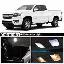 15x White LED Light Interior Package Kit for 2015-2017 Chevy Colorado + TOOL