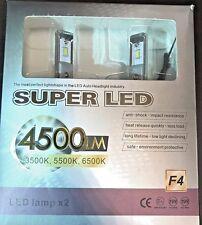 Newest Version SUPER LED 9006 9000LM 40W 6500K LED Headlight Kit Free Shipping!!