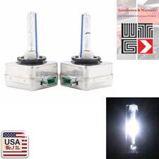 1 Pair D3C D3S D3R 6000K White HID Xenon Headlight Light Bulbs OEM Replacement