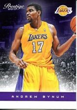 2012 13 Prestige #22 Andrew Bynum Los Angeles Lakers NM NBA Trading Card
