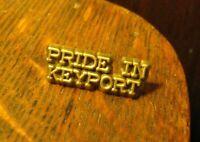 Pride In Keyport NJ Lapel Pin - Vintage LGBT Gay Queer New Jersey Souvenir Pin