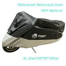 XL Waterproof ATV Motorcycle Cover For Harley Dyna Fat Bob FXDF Street Bob Glide