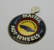Redline Hotwheels Button Badge Metal Hong Kong Custom Barracuda R17152