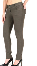 NEW LADIES SKINNY FIT JEANS COLOURED STRETCHY WOMENS TROUSERS JEGGINGS SIZE 8-22