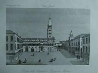 1845 Zuccagni-Orlandini Veduta della Cattedrale e Piazza di Modena