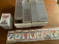 Ultimate NHL Mystery Pack 5 cards all HITS! Including 1 PSA GRADED 10 YOUNG GUNS