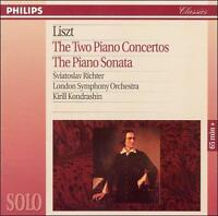 NEW Liszt: The Two Piano Concertos; The Piano Sonata (Audio CD)