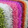 5M Fishing Line Pearls Chain Pearl Beads Chain Flower Garland Wedding Decoration