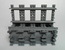 LEGO ® ferrovia RC rotaie appena 8x 7897 7898 7938 7939 3677 10 pezzi binario
