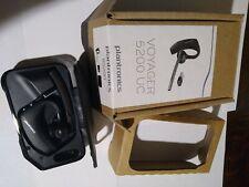 New listing Plantronics Voyager 5200 Uc Poly Bluetooth Single-Ear Mono Headset 206110-101