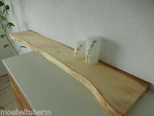 Wandboard Ahorn Massiv Holz Board Regal Steckboard Regalbrett Brett Baumkante !!