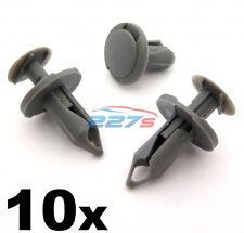 10x 8mm Lungo Grigio Medio Bordo clip- VW T4 & T5 Tappetino & Furgone