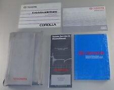 Bordmappe mit Betriebsanleitung Toyota Corola Stand 1993