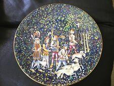 Limoges Haviland and Parlon Las Chasse a la Licorne Hunt of the Unicorn plate 10