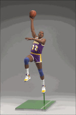 MAGIC JOHNSON L.A. LAKERS NBA McFarlane  Action Figure