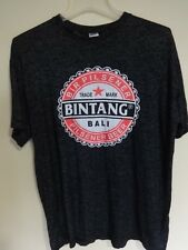 Bintang Bali Indonesia Brewery Pilsener Beer Lager Graphic Printed T-Shirt Men L