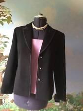 Studio 1 2 Pcs Suit Long Sleeve Black Blazer & Pink Top SZ 10 NWT
