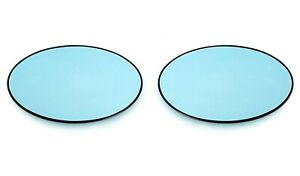 For Mini R50 R52 R53 Left+Right Wing Mirror Glass Blue Heated Aspheric Blind