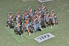 25mm guerras napoleónicas/francés-Revolucionario 12 de caballería de Metal-CAV (7883)