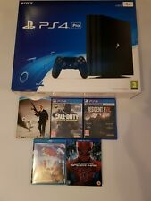 Sony PlayStation 4 Pro 1TB Video Game Console Bundle - Jet Black ps4 pro