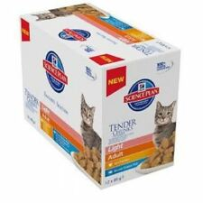 Hill's Science Plan Adult Light Fish Multipack Pouches Wet Cat Food 12 x 85g