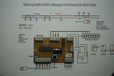 Lichtsignalsteuerung & Bremsmodul für Viessmann 4011,4012,4013 & Märklin Digital
